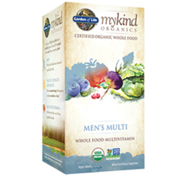 Garden of Life Mens Multi Organic 60 tabs G17647