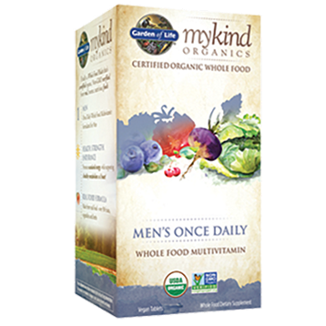 Garden of Life Mens Once Daily Organic 30 tabs G17661