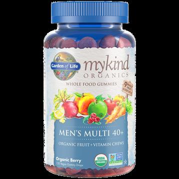 Garden of Life Mykind Men039s 40 Multi Berry 120 Gummy G20289