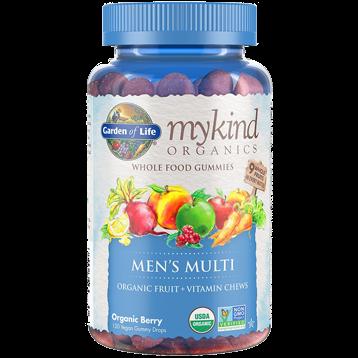 Garden of Life Mykind Men039s Multi Berry 120 Gummy Drops G20296