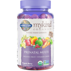 Garden of Life Mykind Prenatal Multi Berry 120 Gummy G20302