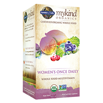 Garden of Life Mykind Womens Once Daily Org 30 tabs G17753