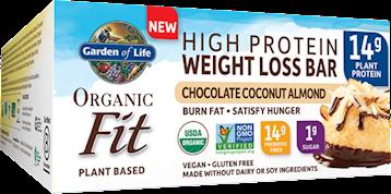 Garden of Life Organic Fit Bar Choco Coco Alm 12 bars G22078