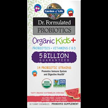 Garden of Life Organic Kids Probiotics Water 30 chews G22153