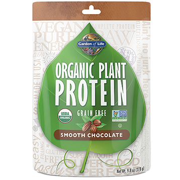Garden of Life Organic Plant Protein Chocolate 9 oz G18033