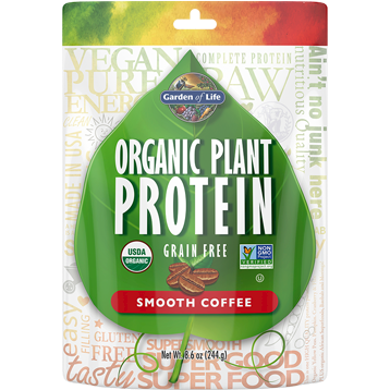 Garden of Life Organic Plant Protein Coffee 10 servings G18057