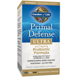 Garden of Life Primal Defense Ultra 180 vegcaps G13359