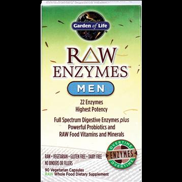 Garden of Life RAW Enzymes Men 90 vcaps G15612