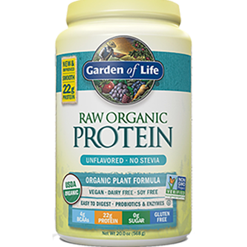 Garden of Life RAW Organic Protein Unflavored 20 oz G14158