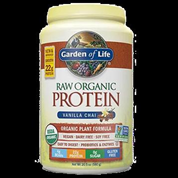 Garden of Life RAW Organic Protein Van Chai 20 srvng G16060