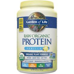 Garden of Life RAW Organic Protein Vanilla 22 oz M1867