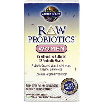 Garden of Life RAW Probiotics Women 90 vcaps G15674