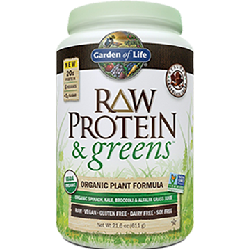 Garden of Life RAW Protein and Greens Chocolate 21.6 oz G18729