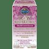 Garden of Life RAW Resveratrol 60 vegcaps G15919