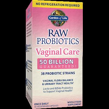 Garden of Life Raw Probiotics Vaginal Care ST 30vegcap G23341