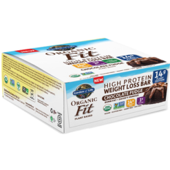 Garden of Life Sport Organic Fit Bar Choc Fudge 12 Bars G19177