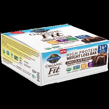 Garden of Life Sport Organic Fit Bar Choc Fudge 12 Bars G19177