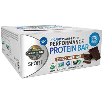 Garden of Life Sport Sport Bar Chocolate Fudge 12 Bars G19078