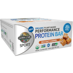 Garden of Life Sport Sport Bar Sea Salt Caramel 12 Bars G19085