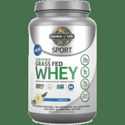 Garden of Life Sport Sport Certified Whey Protein Van 652 g G20630