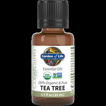 Garden of Life Tea Tree Organic Essential Oil .5 fl oz G22962