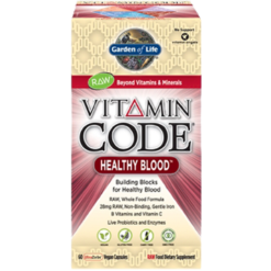 Garden of Life Vitamin Code® Healthy Blood™ 60 vcaps G16541