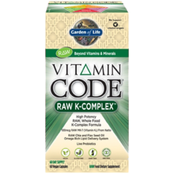 Garden of Life Vitamin Code® RAW K Complex™ 60 vcaps G16510