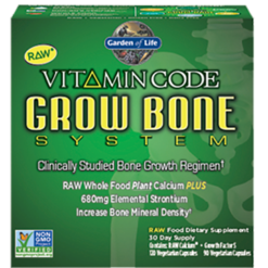 Garden of Life Vitamin Code Grow Bone System 1 kit G14011