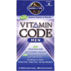 Garden of Life Vitamin Code Men 120 vcaps G13687