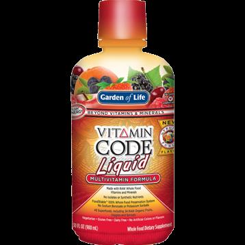 Garden of Life Vitamin Code Multi Fruit Punch 30oz G15964