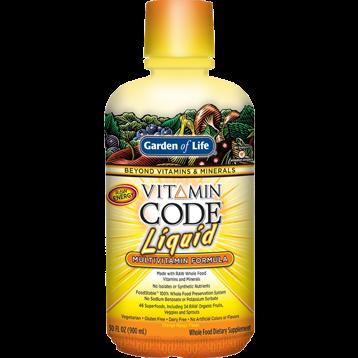 Garden of Life Vitamin Code Multi Orange Mango 30oz G14325