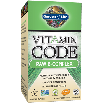 Garden of Life Vitamin Code Raw B Complex 60 vcaps G13809