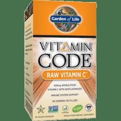 Garden of Life Vitamin Code Raw Vitamin C 60 vcaps G13816