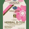 Garden of Life Wild Rose Herbal D Tox 1 kit G16671