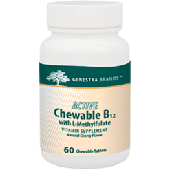 Genestra Active Chew B12 w L Methylfolate 60 tabs SE164