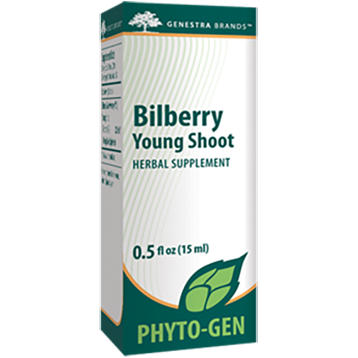 Genestra Bilberry Young Shoot 0.5 fl oz S11760