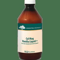 Genestra Cal Mag Vanilla Liquid 15.2 fl oz S12640