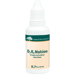 Genestra D3 K2 Mulsion Citrus 0.7 oz SE170