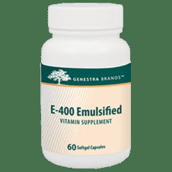 Genestra E400 Emulsified 400 IU 60 gels SE105