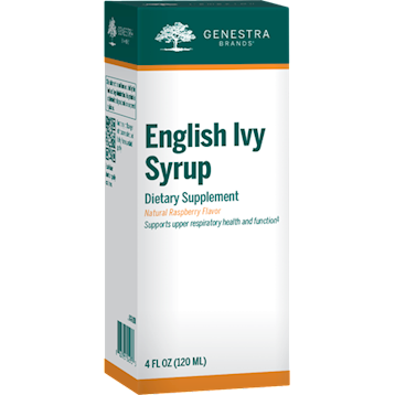 Genestra English Ivy Syrup Adults 4 fl oz G52933