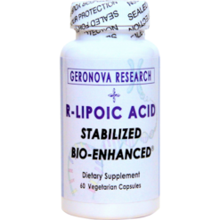 Geronova Research R Lipoic Acid 300 mg 60 vegetarian capsules KR300