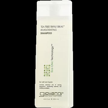 Giovanni Cosmetics Tea Tree Triple Treat Shampoo 8.5 oz G13008