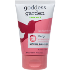 Goddess Garden Baby Natural Sunscreen Tube 3.4 oz G01512