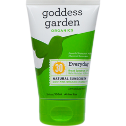 Goddess Garden Everyday Natural Sunscreen Tube 3.4 oz G01383