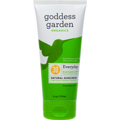 Goddess Garden Everyday Natural Sunscreen Tube 6 fl oz G01413