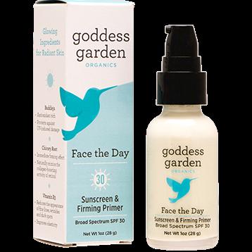 Goddess Garden Face The Day Sunscreen Primer 1 fl oz G20515