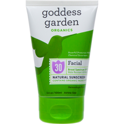 Goddess Garden Facial Natural Sunscreen Tube 3.4 fl oz G01482
