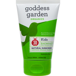 Goddess Garden Kids Natural Sunscreen Tube 3 4 fl oz G01390