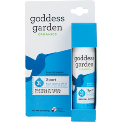 Goddess Garden Sport SPF 30 Natl Sunscreen Stick .6oz G01451