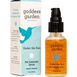 Goddess Garden Under the Sun Pre Sunscreen Serum 1 oz G20508